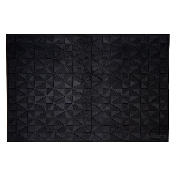 Türmatte graphic 60 x 90 cm von tica copenhagen in schwarz