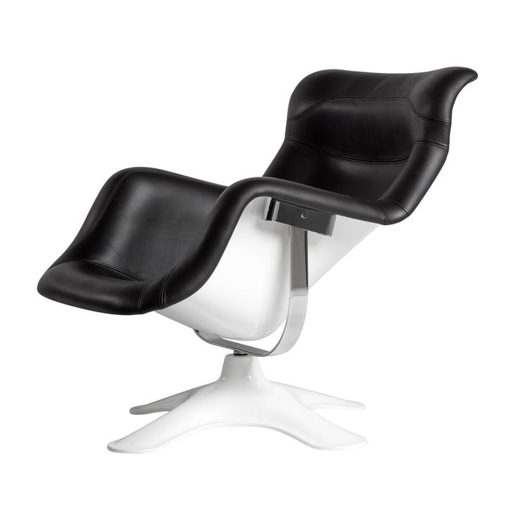 Artek - Karuselli Lounge Chair, schwarz / weiß