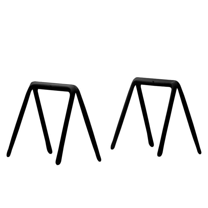 Zieta - Koza Tischböcke (2 Stück), schwarz