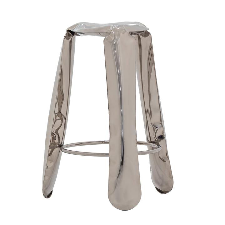 Zieta - Plopp Barhocker, silber