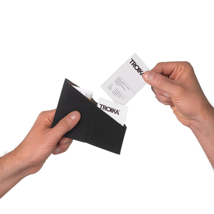 Raffiniertes Visitenkarten-Etui