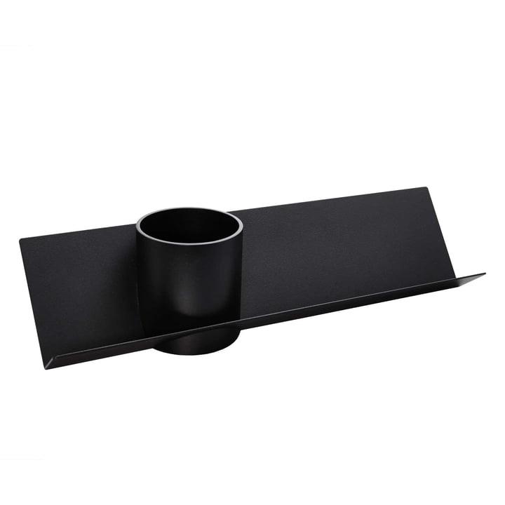 Müller Möbelwerkstätten - Check Schreibtischablage, schwarz