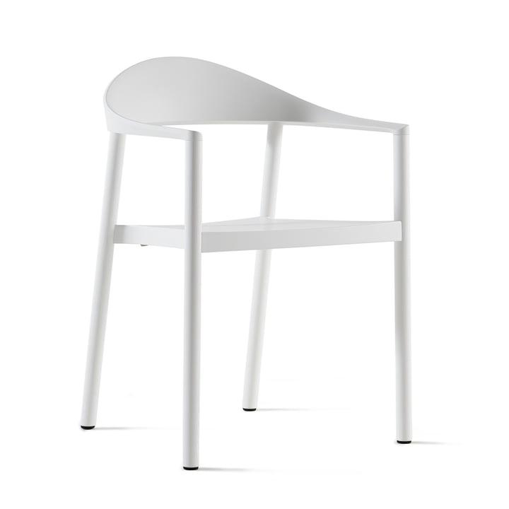 Plank - Monza Stuhl, weiß / weiß