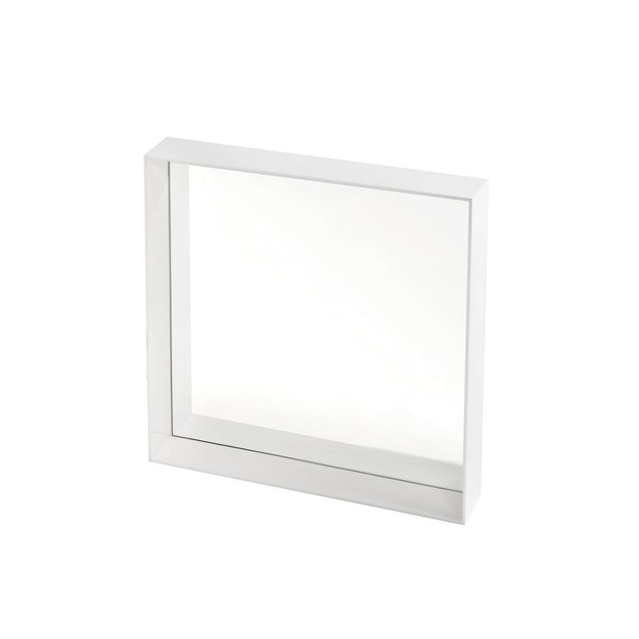 Kartell - Only Me Spiegel, 50 x 50 cm, weiß