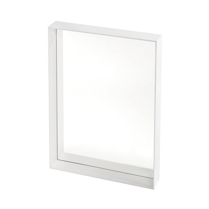 Kartell - Only Me Spiegel, 50 x 70 cm, weiß