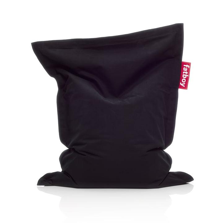 Junior Sitzsack Stonewashed, schwarz von Fatboy