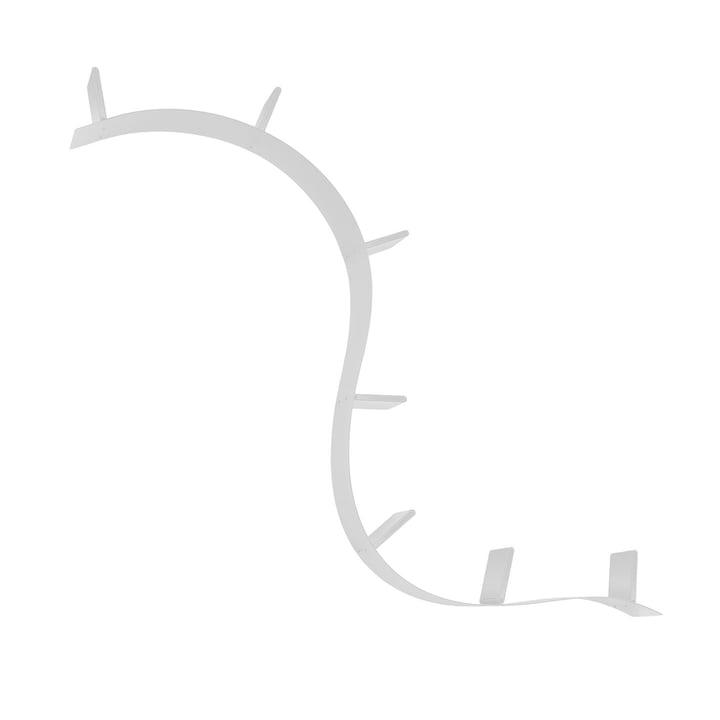 Kartell - Bookworm, kurzes Regal (1A / Aluminium)