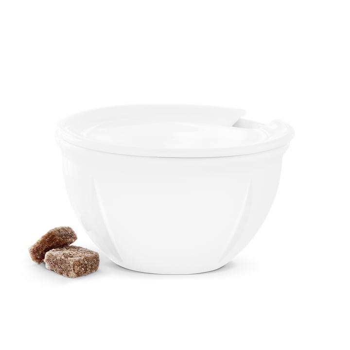 Rosendahl - Grand Cru Soft Zuckerdose mit Deckel, weiß