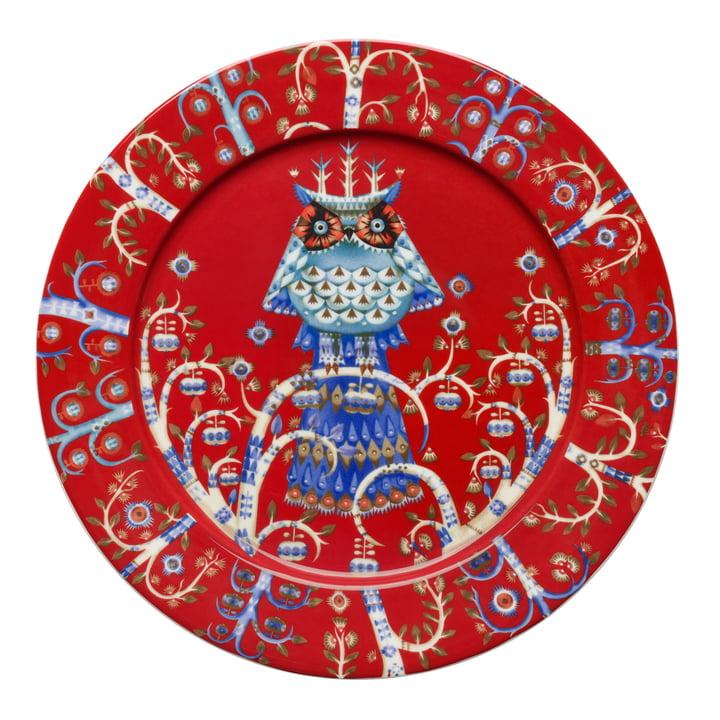 Taika Teller flach Ø 27 cm von Iittala in Rot