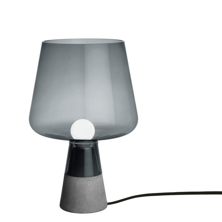 Iittala - Leimu Leuchte, Ø 25 x H 38 cm, grau
