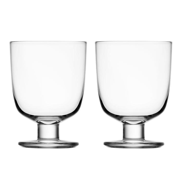 Lempi Glas 34 cl  (2er-Set) von Iittala in klar