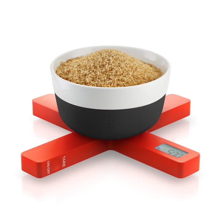 Eva Solo - Digitale Küchenwaage, orange, Zucker
