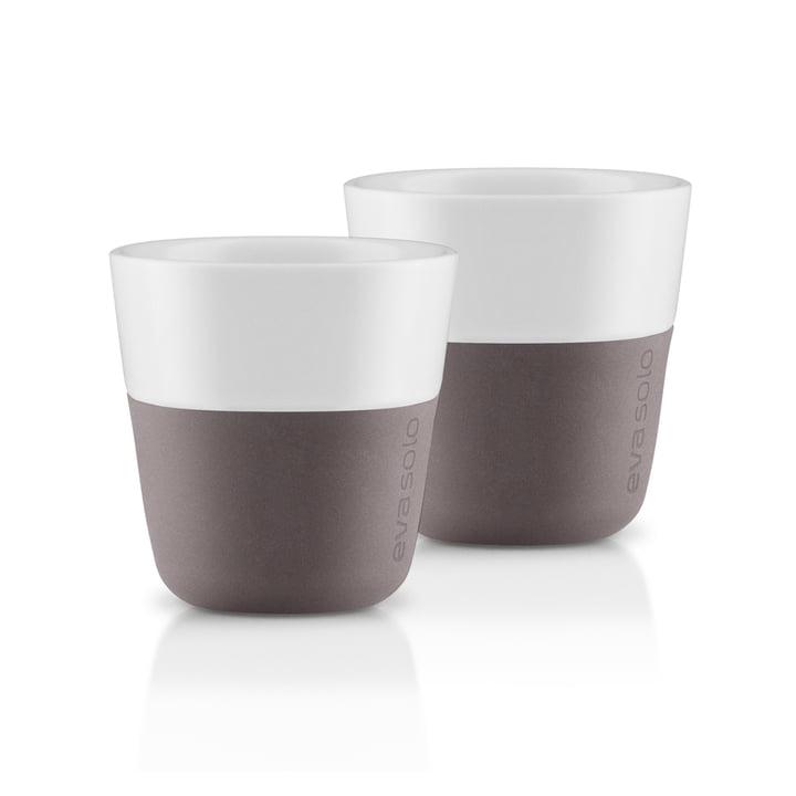Espresso-Becher (2er-Set) von Eva Solo in Grau