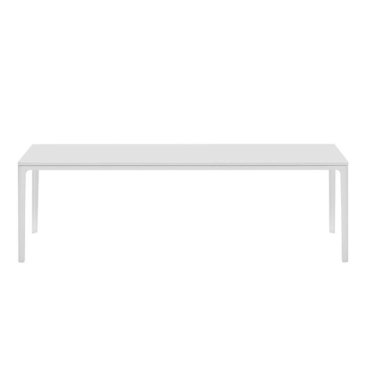 Plate Table 370 x 1200 x 400 mm MDF weiß von Vitra