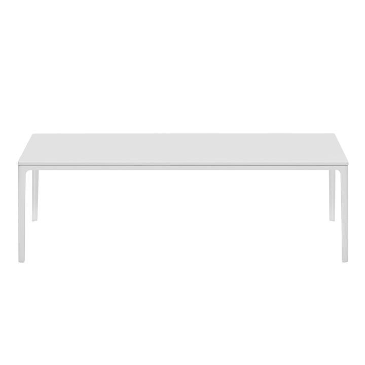 Plate Table 370 x 1200 x 700 mm MDF weiß von Vitra