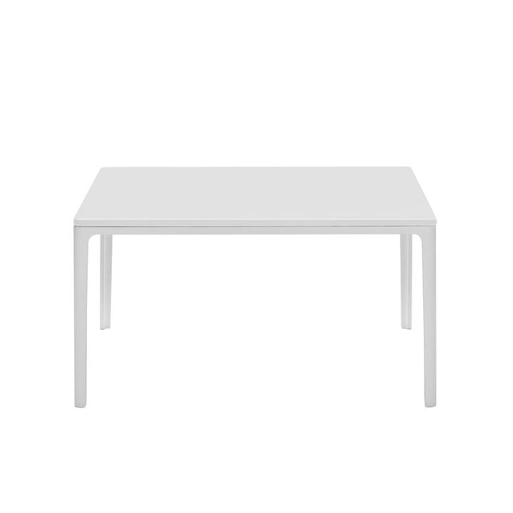 Plate Table 370 x 700 x 700 mm MDF weiß von Vitra