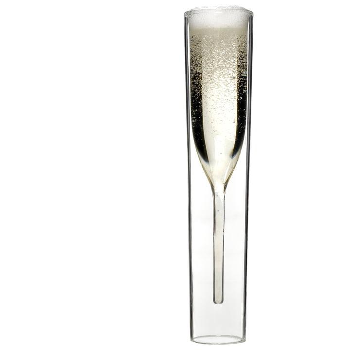 Katalogfreisteller: By:Amt - InsideOut Champagner Glas, einzeln