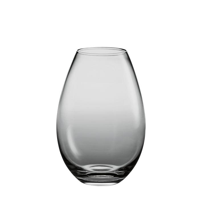 Holmegaard - Cocoon Vase - Höhe: 170 mm, smoke