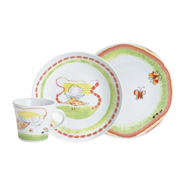 Kahla - Magic Grip Kinderset, 3-teilig, Blumenfee