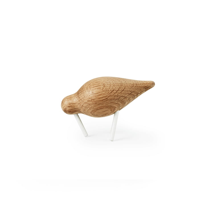 Shorebird Small von Normann Copenhagen in Eiche/ Weiß