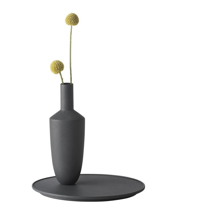 Muuto - Balance Vase (1 Vase-Set), schwarz