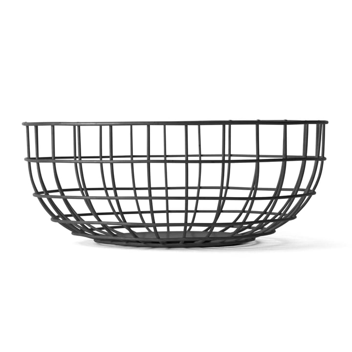 Menu - Norm Wire Bowl, schwarz