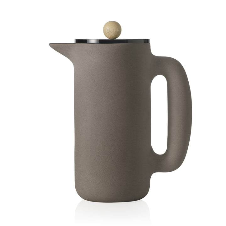 Push Coffee Maker von Muuto in steingrau