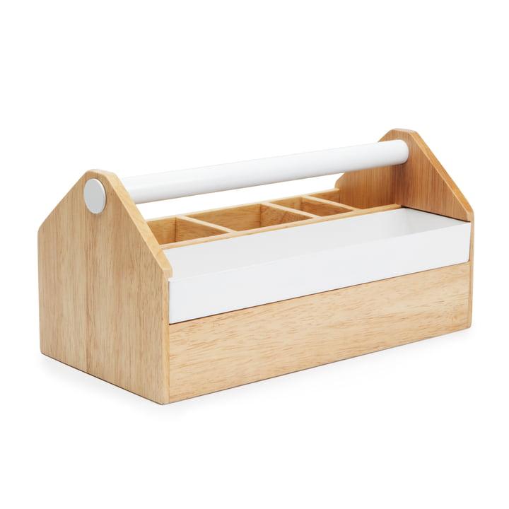 Umbra - Toto Box, natur / weiß