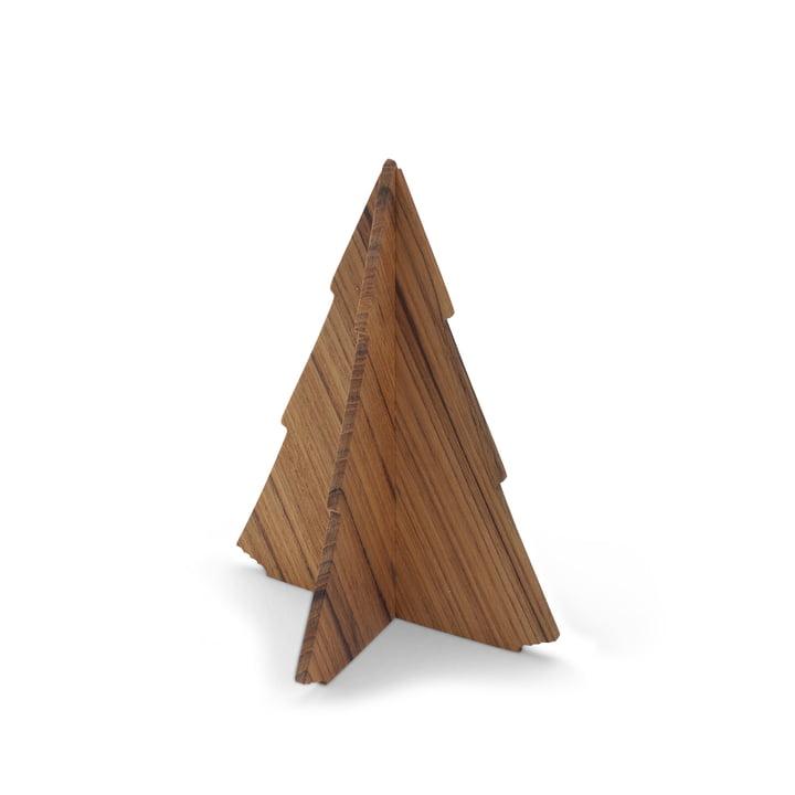 Skagerak - Spruce Tree, 13 cm aus Teakholz