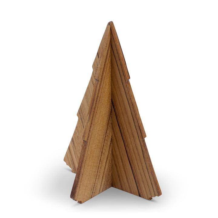 Skagerak - Spruce Tree, 17 cm, Teakholz