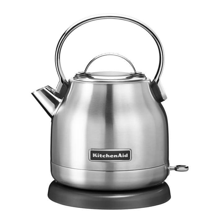 Wasserkocher 1,25 l (5KEK1222) von KitchenAid in Edelstahl