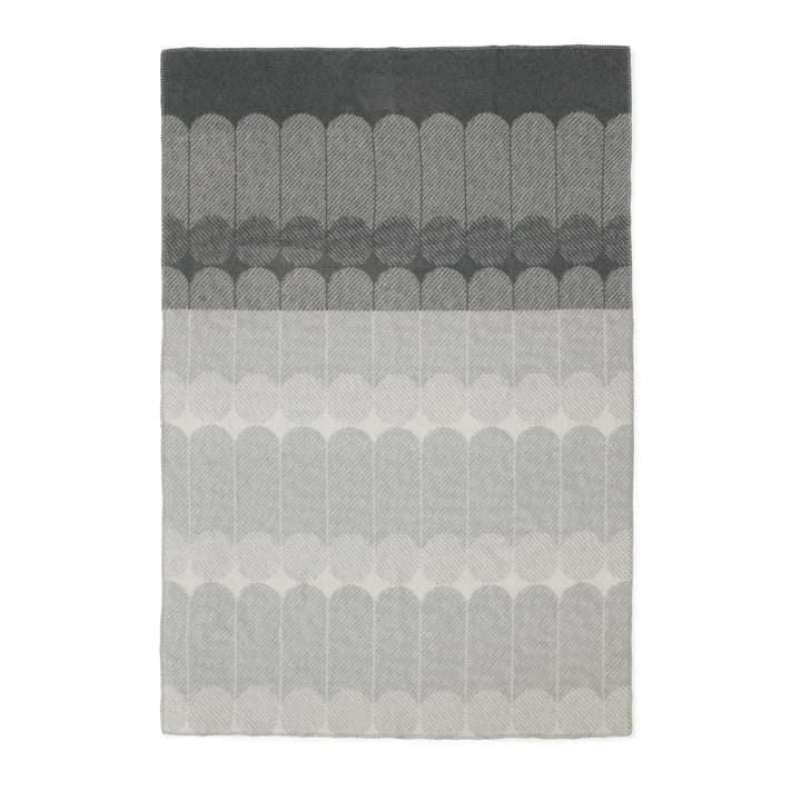 Ekko Wolldecke von Normann Copenhagen in Smoke/ Grey