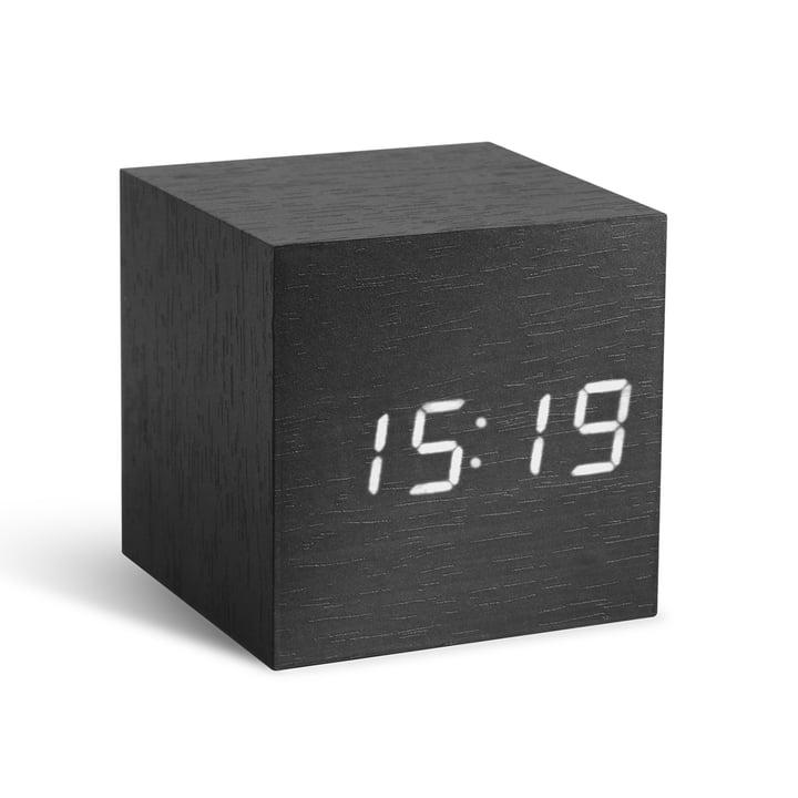 Gingko - Cube, schwarz / LED weiß