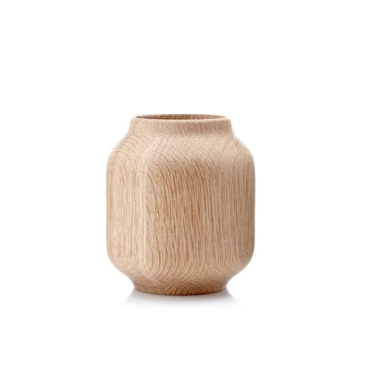 Applictata - Poppy Vase small, Eiche