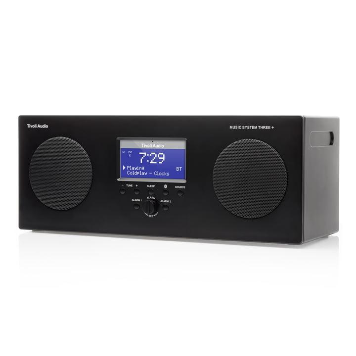 Tivoli Audio - Music System 3+, schwarz