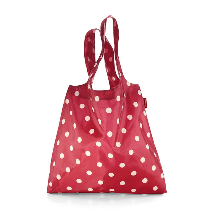mini maxi shopper von reisenthel in ruby dots