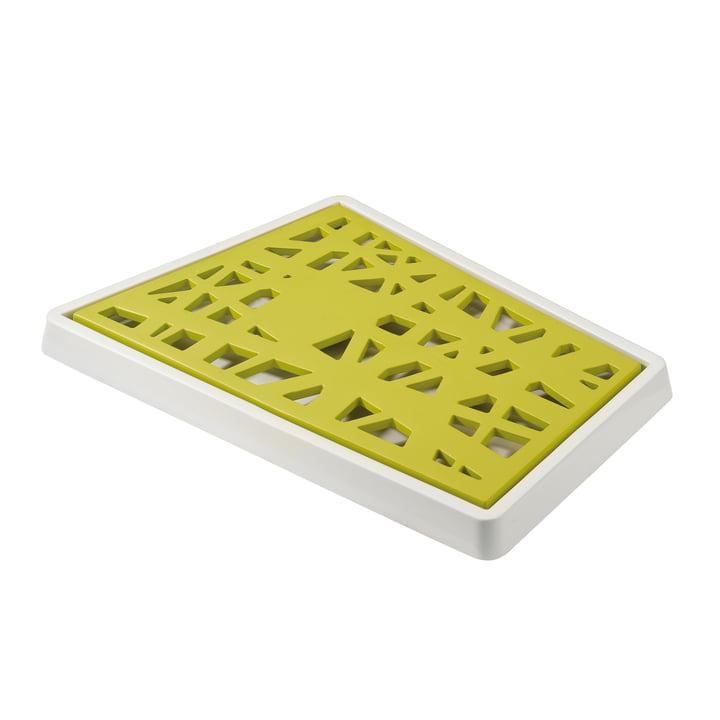 Koziol - Matrix Brotschneidebrett, senfgrün mit weiß