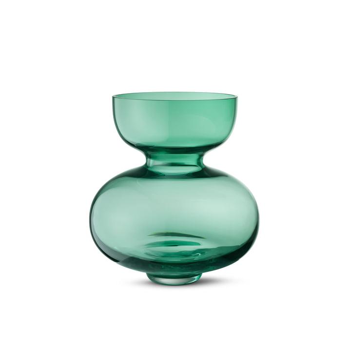 Georg Jensen - Alfredo Vase 250, transparent-grün