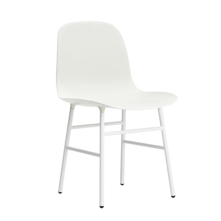 Form Stuhl Gestell Stahl von Normann Copenhagen in Weiß