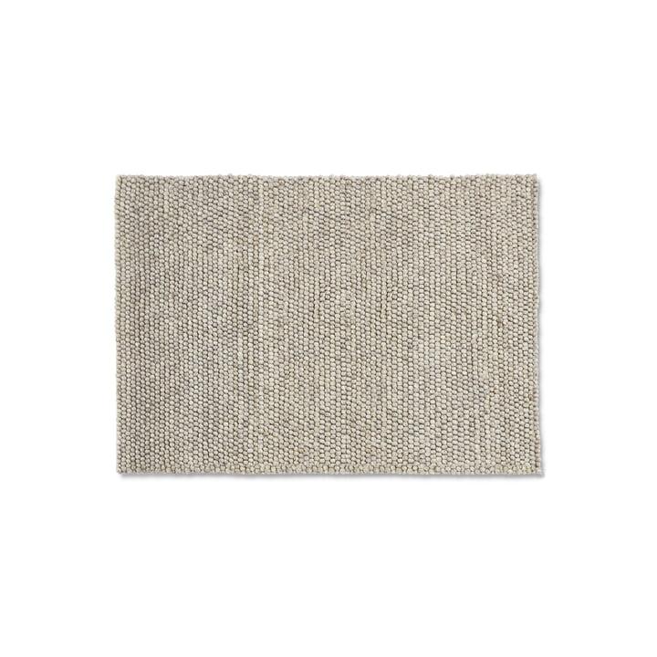 Peas Teppich 140 x 200 cm von Hay in soft grey