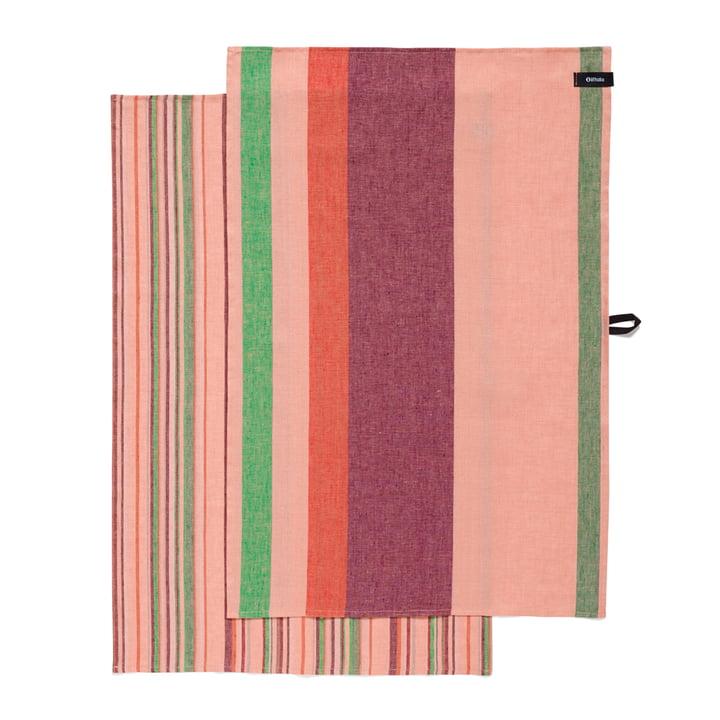 Iittala - Origo Geschirrtuch (2er-Set), twins rosa 43 x 67 cm