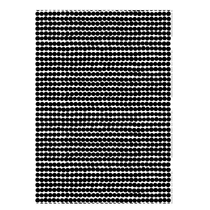 Räsymatto Decke von Marimekko in Schwarz / Weiß