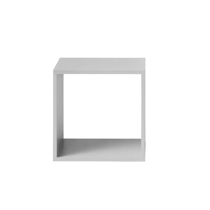 Das Muuto - Stacked Regalmodul ohne Rückwand, medium in hellgrau