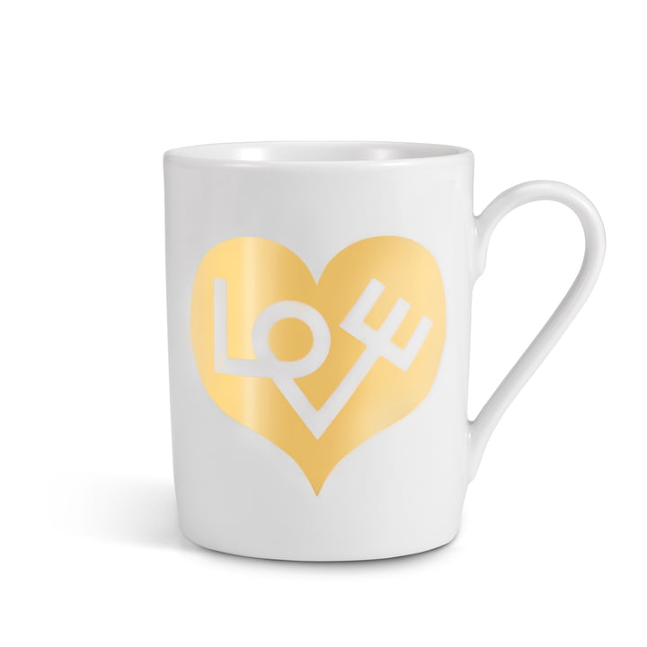Coffee Mug Love Heart von Vitra in Gold
