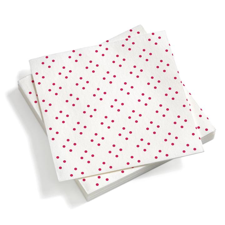Paper Napkins large Quadrispot Dark Pink 40 x 40 von Vitra