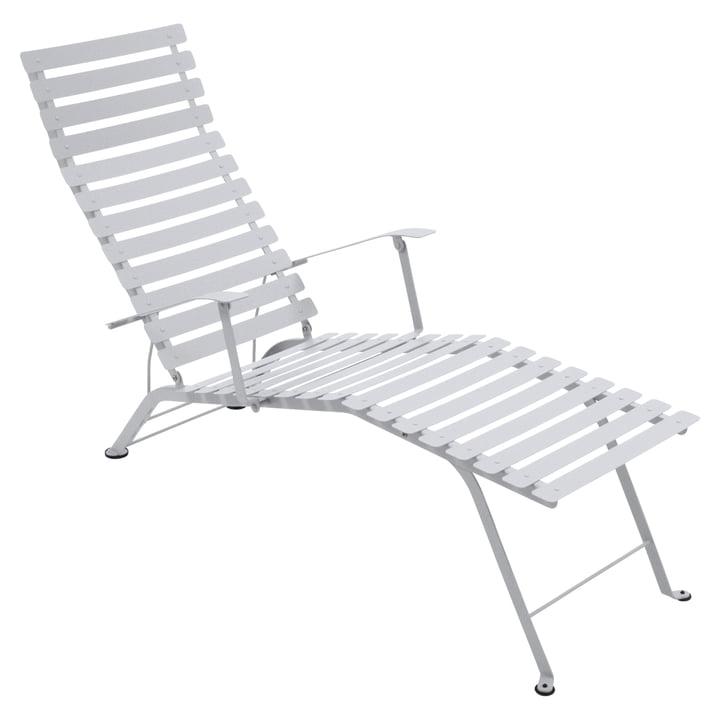 Bistro Liegestuhl von Fermob in Baumwollweiß