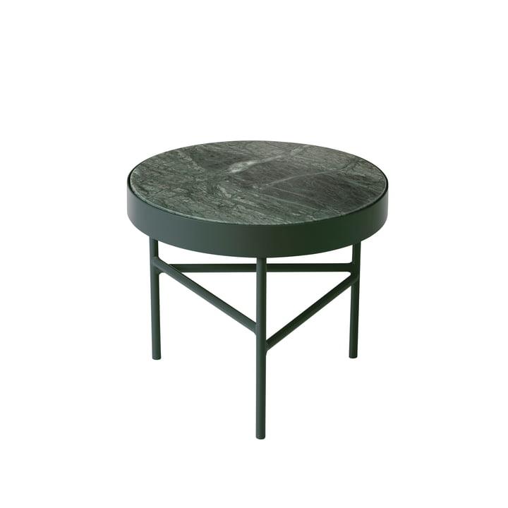 ferm living - Marble Table, klein, grün