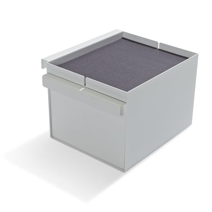 Add-On-Element No. 5 Schubkasten von Müller Möbelwerkstätten in Weiß