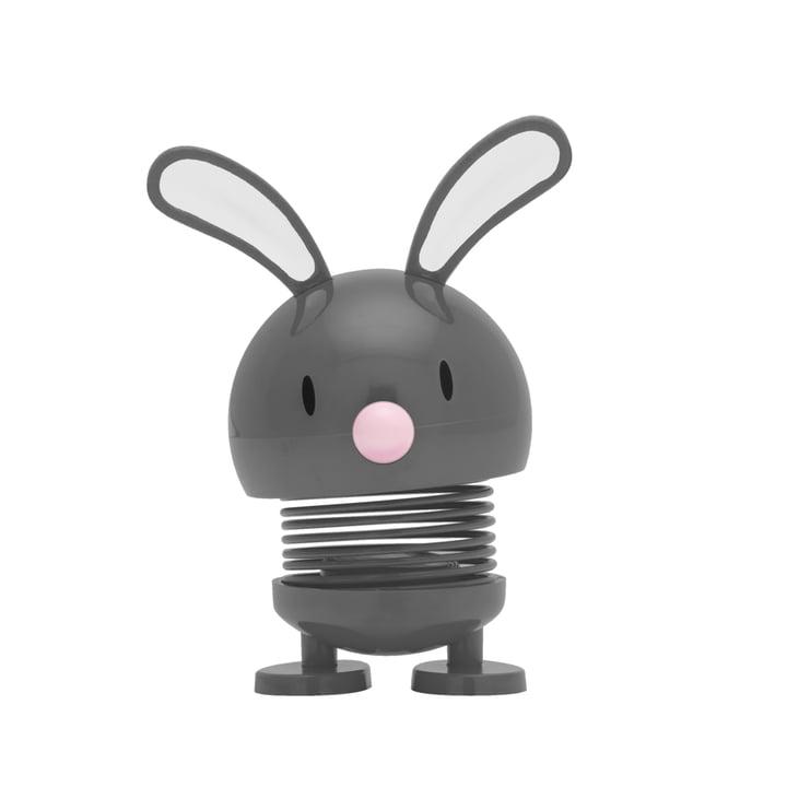 Hoptimist - Bunny Baby Bimble, dunkelgrau