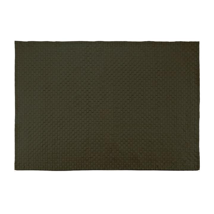 Objekten - Passo Teppich, olive